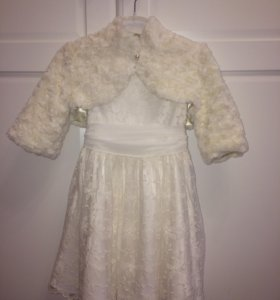 Нарядное платье и болеро