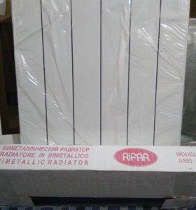 Новый радиатор биметаллический Rifar А500 6 секций