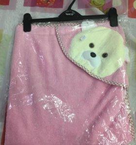 Новое полотенце с уголком
