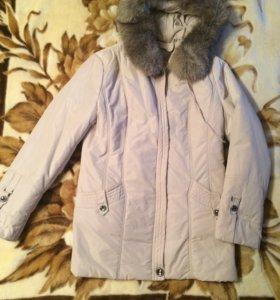 Куртка женская. Натуральный мех.