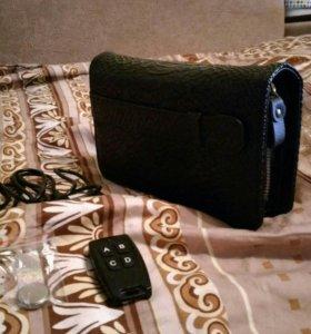 Барсетка шпионская с камерой