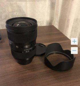 Объектив Sigma AF 24-35mm f/2 ART Canon EF