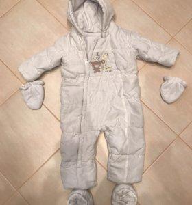 Комбинезон mothercare осень-зима (тёплая), р 80