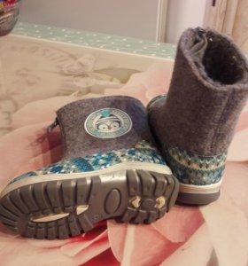 Зиняя обувь 23 размер