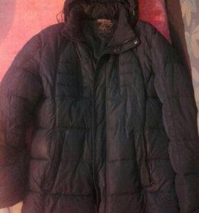 Мужская зимняя куртка б/у
