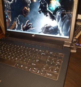 Мощный ноутбук для игр. FullHD. i5/SSD 120/6/GT650