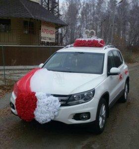 Аренда Украшения на свадебное авто