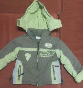 детский комбинезон с курткой