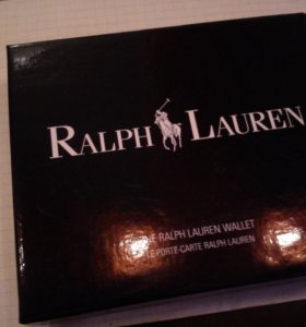 Портмоне Ralph Lauren