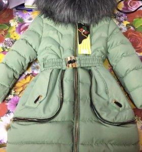 Пальто детское для девочек.