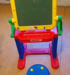Раскладной столик 2в1 + стул.