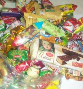 Шоколад, мармелад и.