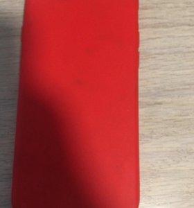Красный чехол на iphone 6/6s