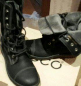 Ботинки жен ЭККО
