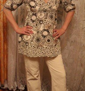 Блузки,брюки,сарафан р.48-50