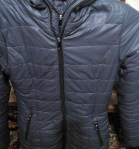 Пальто куртка жен.длинная