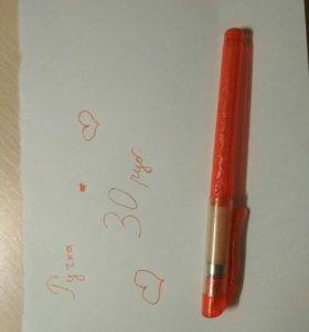 Ручка блестящая