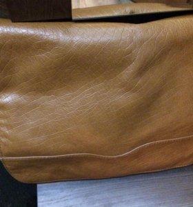 Продам сумку из коровьей кожи (Тунис)