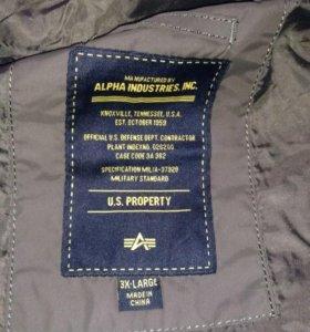Куртка демисезонная alpha industries