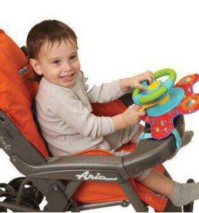 Музыкальная игрушка-руль для коляски