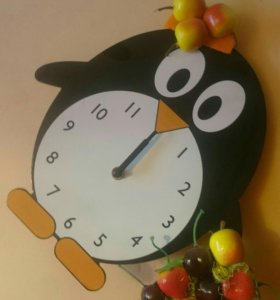 Часы в детскую ручной работы