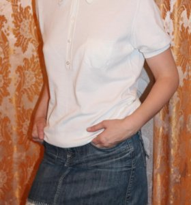 Джинсовая юбка р.48-50