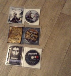 Диски на PlayStation 3.