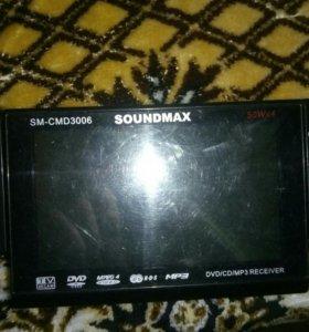 Панель от автомагнитоллы SOUNDMAX SM-CMD3006
