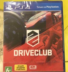 Игра DRIVECLUB для PS4 (новая)