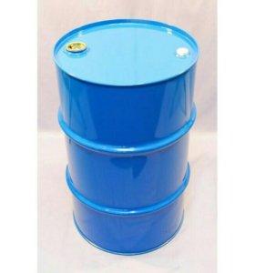 Бочка металлическая 200 литров с двумя пробками