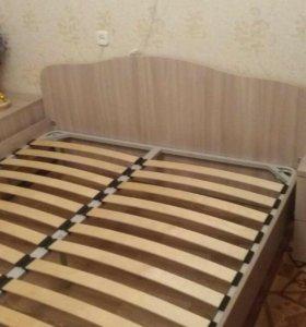 Кровать, матрас