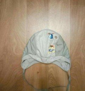 Утепленая шапка