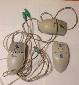 Мышь для компьютера, бу. 3 шт
