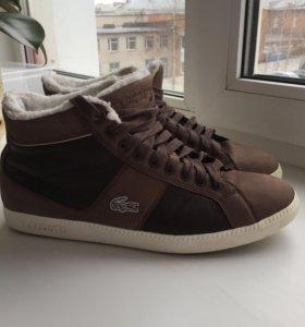 Кеды ботинки Lacoste