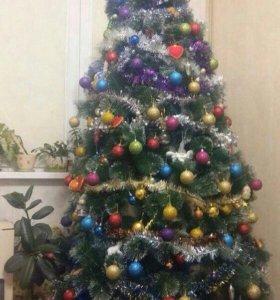 Искусственные елки. Новогодняя елка.