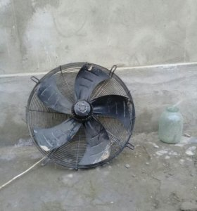 Вентилятор осевой с решеткой 500ват