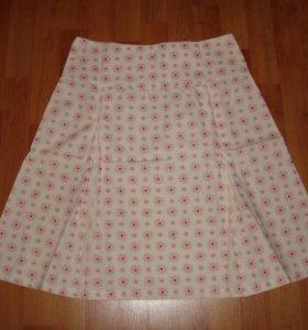 Хлопковая юбка на лето