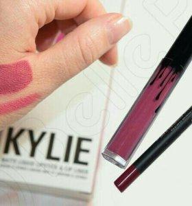 Набор Kylie (помада + карандаш)