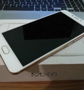 Meizu mx6 32 gb 4 gb озу white gold