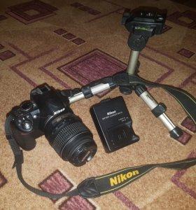 Nikon D3100 (новый)