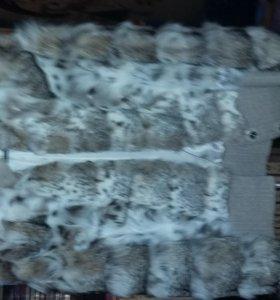 Полушубок из меха рыси (автоледи)