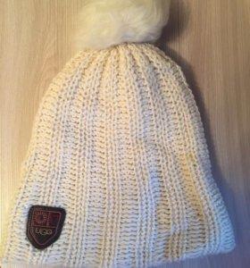 Шапка Ugg ( + шарф и перчатки, цена за комплект)