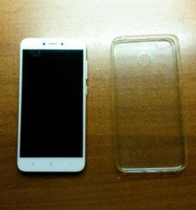 Xiaomi redmi 4X (3/32) Gold в идеальном состоянии