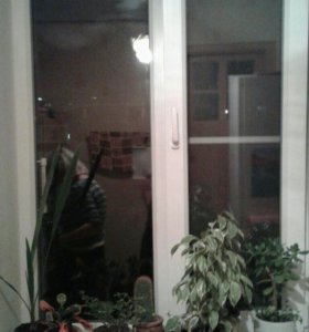 Пластиковые немецкие окна 3шт