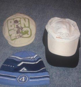 Шапка, бейсболки и кепка.
