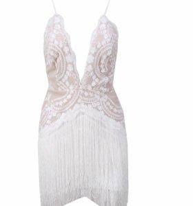 Платье с бахромой!