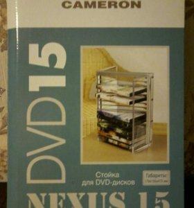 Стойка Новая под DVD диски