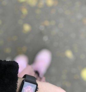Apple Watch S3 38 mm black sport band