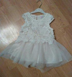 Платье для девочки с кружевом ❄🎉❄