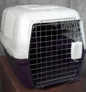 большая переноска для кота или собачки